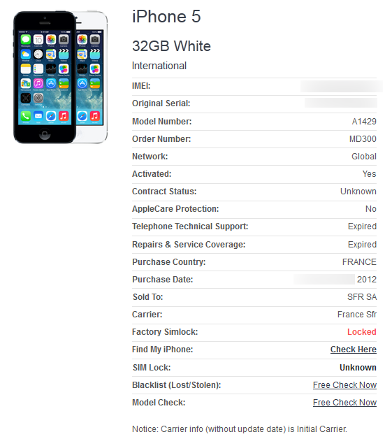 iPhoneのgsx情報を一部無料で取得する方法   何の変哲もない福岡