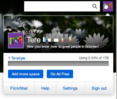 Flickr_settings